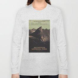 Auyuittuq National Park Long Sleeve T-shirt