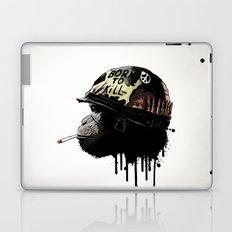 Born to kill Laptop & iPad Skin