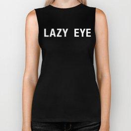 Lazy Eye (Amblyopia) Biker Tank