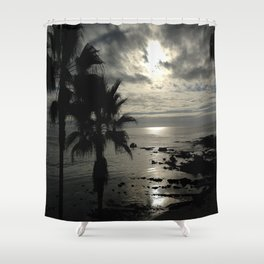 Dark Paradise Shower Curtain