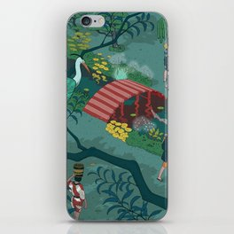 Ukiyo-e tale: The beginning of the trip iPhone Skin