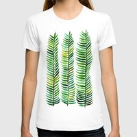 green T-shirts featuring Seaweed by Cat Coquillette