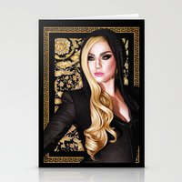 versace Stationery Cards featuring Mother Monster - Versace by Denda Reloaded