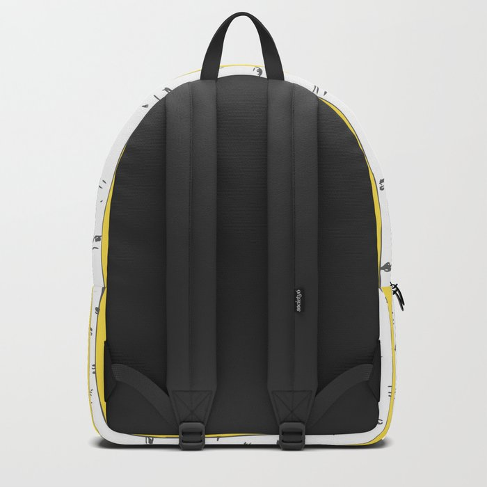 Aspen Forest - Yellow Backpack