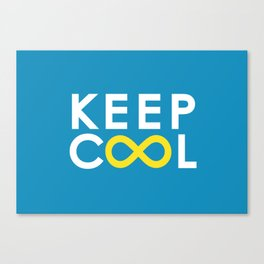 Forever coolness Canvas Print