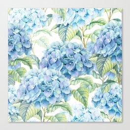 Blue Hydrangea Leinwanddruck