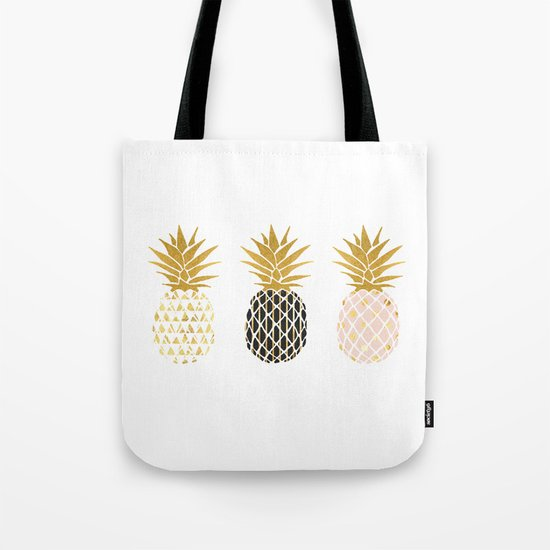 fun pineapple design gold by anniemariedesigns