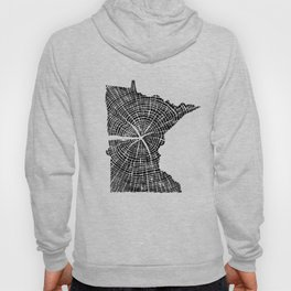 Minnesota Tree Rings Hoody
