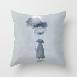 The Cloud Seller Throw Pillow