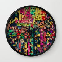 carnival Wall Clocks featuring Carnival by Glanoramay