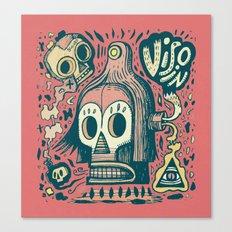 Vision étrange Canvas Print