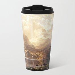 Albert Bierstadt - Among the Sierra Nevada, California Metal Travel Mug