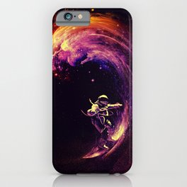 Space Surfing iPhone Case