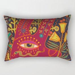 Cyclops Rabbit Rectangular Pillow