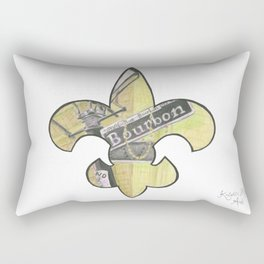 Fleur De Lis Bourbon Street Rectangular Pillow