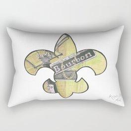 Fleur De Lis Bourbon Street Rectangular Pillow