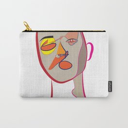 Face of Colours Carry-All Pouch