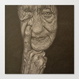 Wrinkle #3 Canvas Print