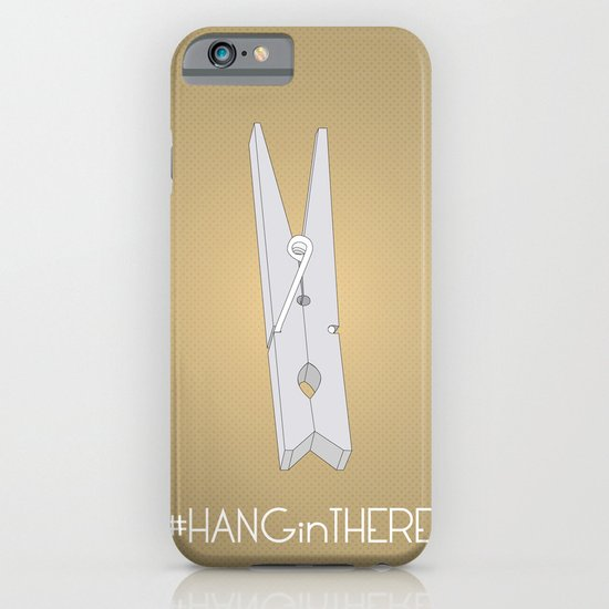 HANGinTHERE iPhone & iPod Case