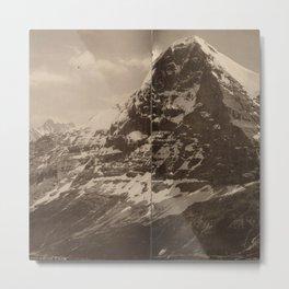 Panorama du Lauberhorn Metal Print
