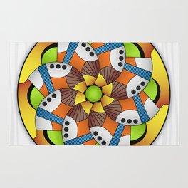 Mandala Horn Rug