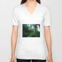 once upon a  time V-neck T-shirts featuring Once upon a time  by Françoise Reina