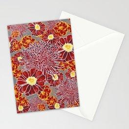 Floral Pattern I Stationery Cards