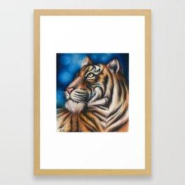 """Tiger"" Drawing Framed Art Print"