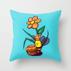 Queen Jelly Bean Throw Pillow