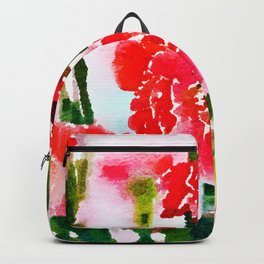 Red Blossom #society6artprint #decor #buyart Backpack