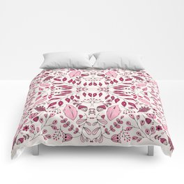 Floral Mix – Pink Comforters