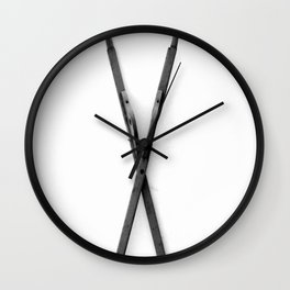 The X Marks The Spot (Sea Version) Wall Clock