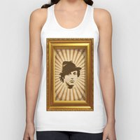rocky Tank Tops featuring Rocky by Durro