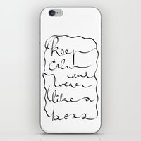 boss iPhone & iPod Skins featuring Boss  by Ben Nguyen