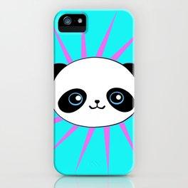 Wild Rockstar Panda iPhone Case
