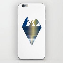 Mountain & Inlet iPhone Skin