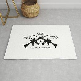 M4 Assault Rifles - U.S. Est. 1776 Rug