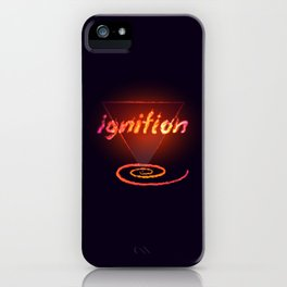 Ignition [dark background] iPhone Case