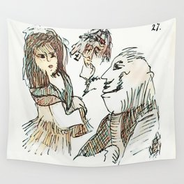 Los Caprichos ~ 27 ~ Who Surrendered Wall Tapestry