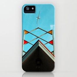 Googie bowling sign iPhone Case
