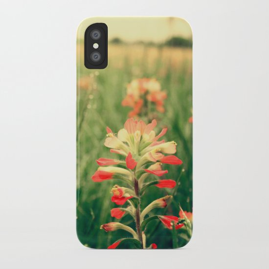 Wild flowers! iPhone Case