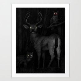 Tapetum Lucidum Art Print