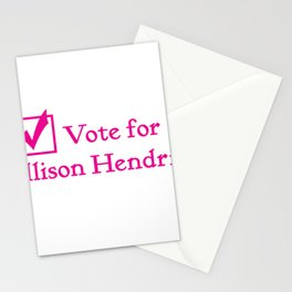 Vote for Alli!! Stationery Cards