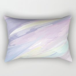 Obscured Watercolor Rectangular Pillow