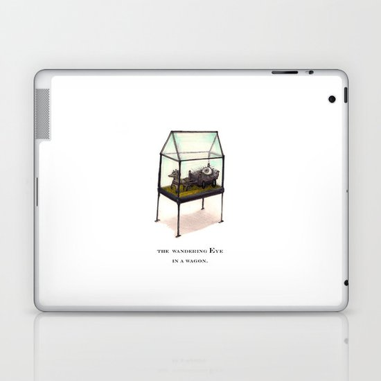 the wandering Eye in a wagon Laptop & iPad Skin
