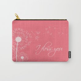 I floss you (pink) Carry-All Pouch