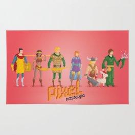 Dungeons and Dragons - Pixel Nostalgia Rug