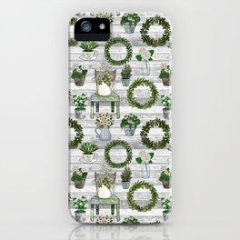 Farmhouse Botanicals iPhone Case