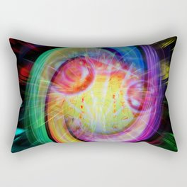 Abstract perfection - Magical Light and Energy Rectangular Pillow