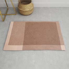 Canvas Collection - Neutral Rose Rug